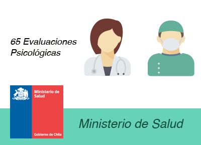 evaluaciones psicolaborales ministerio de salud